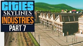Cities: Skylines Industries   STEEL PLANT (#7)