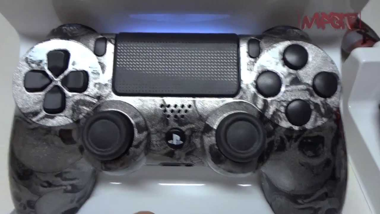 PS4 (DualShock4) Custom Controller by: http://www fom-dnamodz com