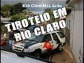 Violência - Tiroteio em plena luz do dia em Rio Claro - SP