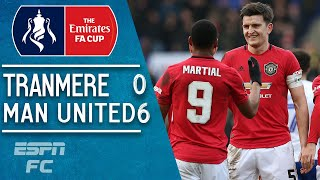 Manchester United WIN!  Harry Maguire, Jesse Lingard & Anthony Martial demolish Tranmere | FA Cup