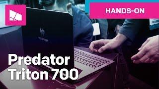 Acer Predator Triton 700 hands-on: Thin gaming laptop