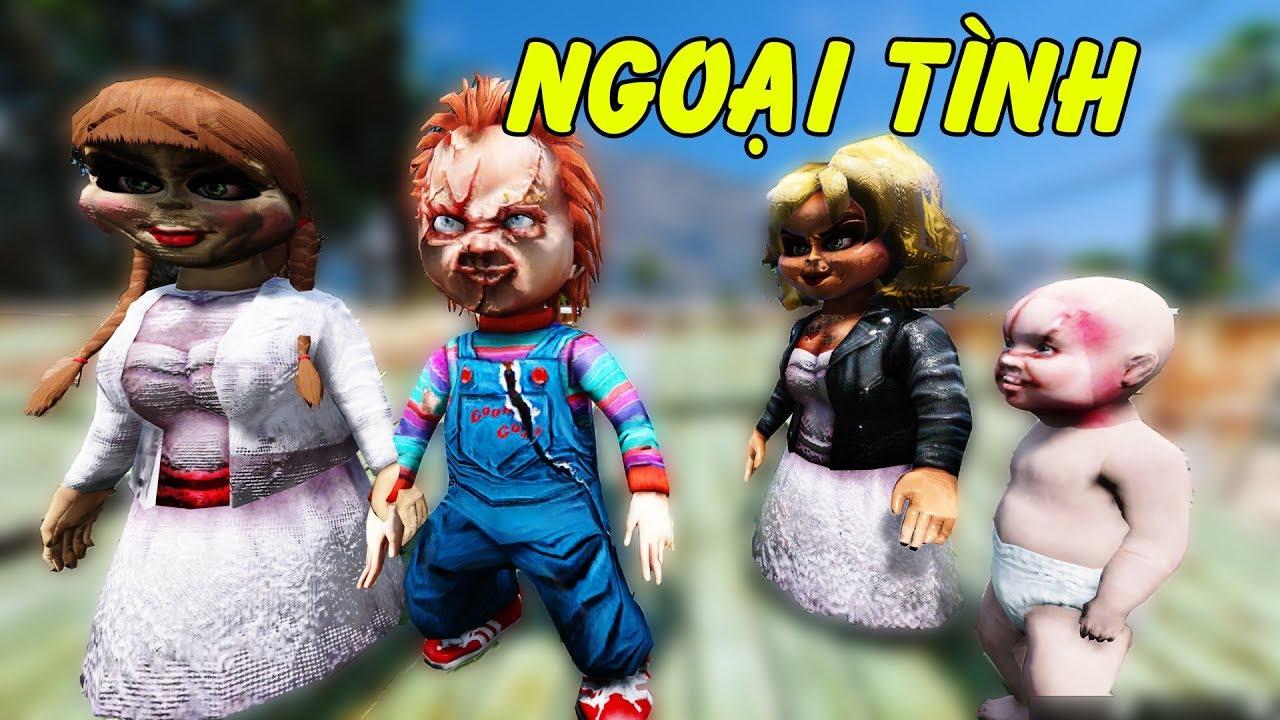 Búp bê ma Chucky ngoại tình với búp bê ma Annabella | GHTG