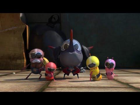 Funny Larva Seasons 2016 : Larva Ranger, Larva Become a Power Ranger HD