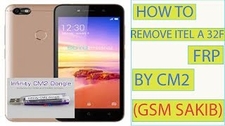 Itel a32f mtk6580 android 8 1 0 frp reset cm2 mtk