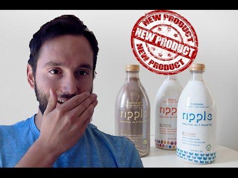 Vegan Product Review - RIPPLE DAIRY FREE MILK!!! SOO GOOD!!