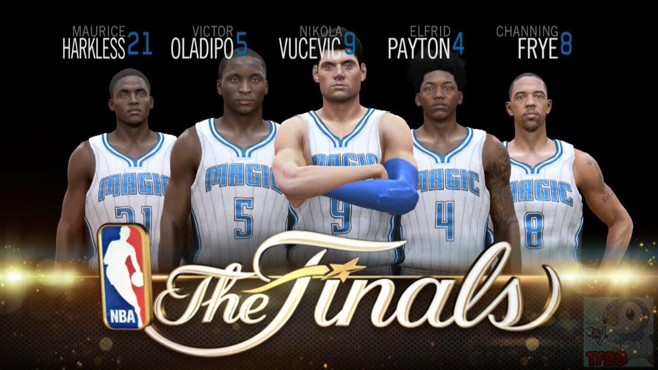 NBA Live 15 Finals Intro & Celebration - Orlando Magic ...