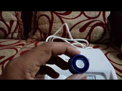 How to change air filter in omron nebulizer compressor