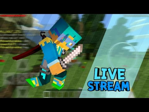 [LIVE] Minecraft PE  Survival - เล่นไปเรื่อยๆ