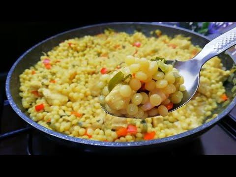 recette-déjeuner-/-dîner-cuit-à-la-poêle-facile-et-rapide-👌-😋😋😋-asmr