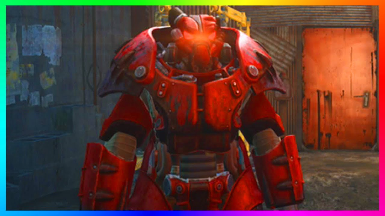 Fallout  Red Power Armor Paint Location