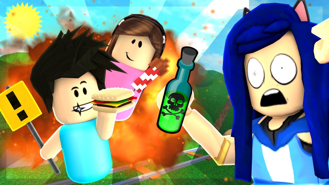 GETTING PRANKED BY A BABY IN ROBLOX!