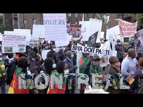 Marche Du Chassement Pour Le 22 Septembre - Diaspora Camerounaise Au Canada - Montréal