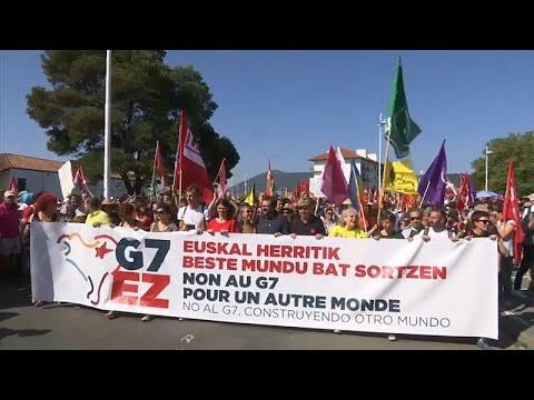إنفصاليو الباسك وأصحاب السترات الصفراء والمدافعون عن البيئة في احتجاج ضد قمة مجموعة السبع…  - نشر قبل 9 دقيقة
