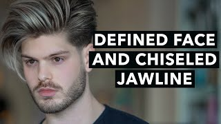 How to Get A Chiseled Jawline for Men | Tips for Defining Your Face