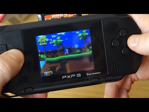 PXP3 Slim Station - A Bad Retro Gaming Handheld That is Ideal for Kids
