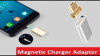 Magnetic Charger Adapter Unboxing | Hindi