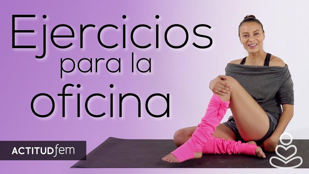 Estiramientos para relajarte en la oficina be yoga for Ejercicios en la oficina