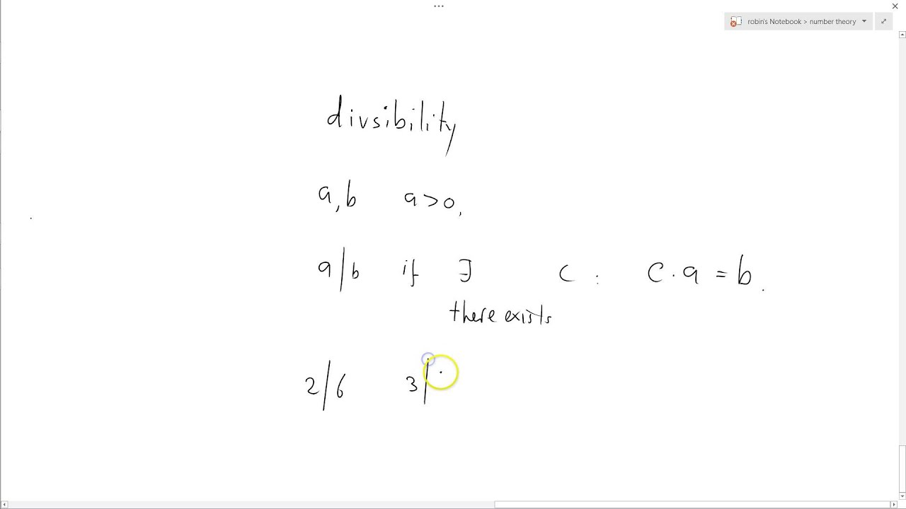 Number theory 07 divisibility youtube number theory 07 divisibility publicscrutiny Image collections