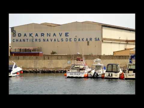 Sénégal  -  Le Port Autonome de Dakar