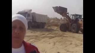 زعيمة الثورة بالاسماعيلية تعلن أنتصار ثورة 30يونيو من أول موقع حفر أغطسس 2014