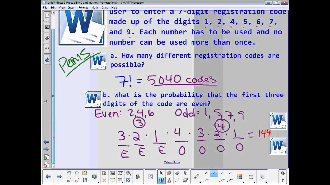 Permutations and Combinations for Probability (with video ... on