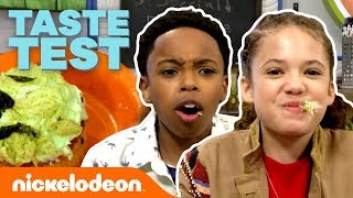 Taste Test REAL Food from Cousins For Life! | #NickStarsIRL