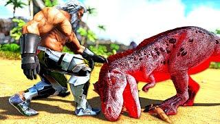 I Found a POWERFUL ALPHA REX Egg! Wonder What's Inside!? | ARK MEGA Modded Annunaki #34
