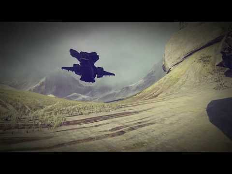 Halo 5 Scripted Pelican Flight! - Forge Technology Reveal