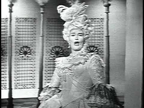 Joan Sutherland, soprano - Arne - Artaxerxes - 'The Soldier Tir'd' (video - 1963)