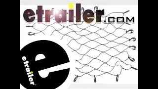Review of the Erickson Stretchable Truck Bed Cargo Net - etrailer.com