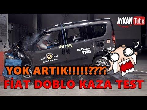 FİAT DOBLO KAZA TESTİ??!! (CRASH TEST 2017) #TBT