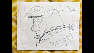 Drawing Warm Up: Scribble Art Activity Example