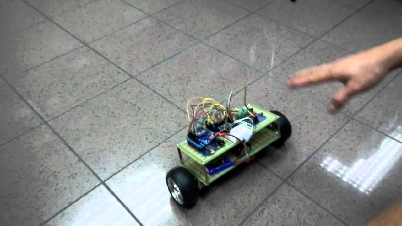 how to make a self balancing robot using arduino