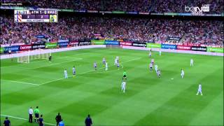 ملخص كأس السوبر الاسباني ريال مدريد واتليتكو مدريد دقه عاليه HD 1-0 الأياب