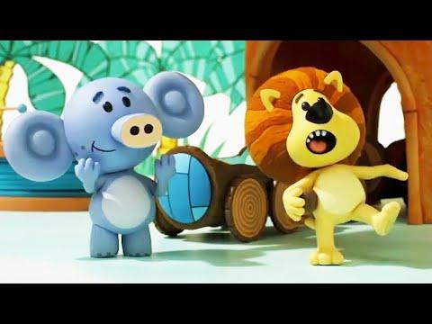 Raa Raa The Noisy Lion Official | Raa Raa's New Noise | Full Episodes | Kids Cartoon