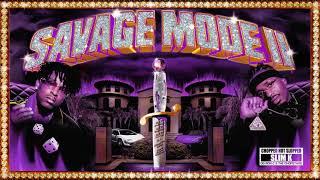 21 Savage x Metro Boomin - Purple Savage Mode 2 Intro (ChopNotSlop Remix)