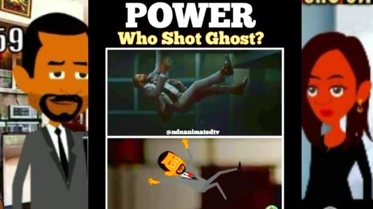POWER CARTOON- WHO SHOT GHOST? Episode. 2