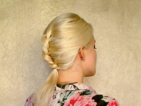 Видео Прически на средние волосы для невесты фото