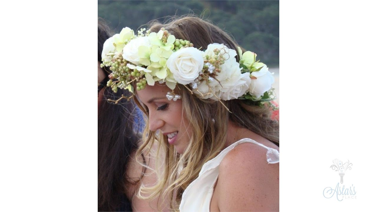 How to make a floral crown wedding floristry tutorial youtube how to make a floral crown wedding floristry tutorial izmirmasajfo
