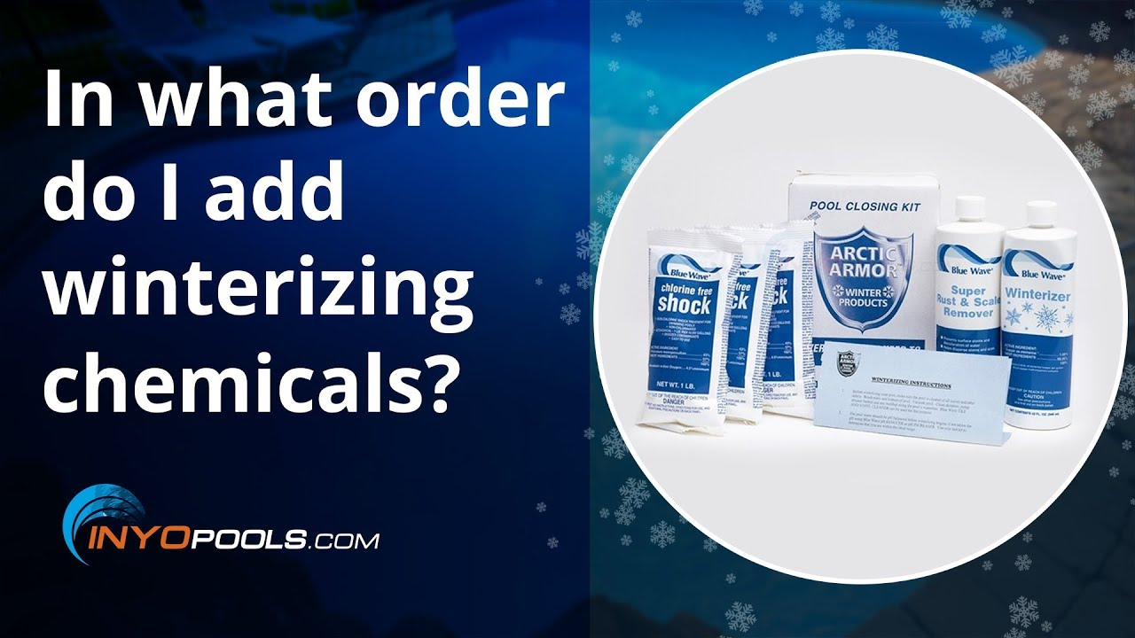 PSC Ep. 74: In what order do I add winterizing chemicals ...