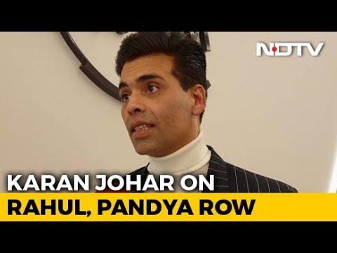 """Davos 2019: """"Have Learnt My Lesson"""": Karan Johar Amid Hardik Pandya-KL Rahul Row"""