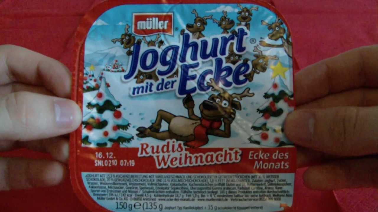 joghurt mit der ecke rudis weihnacht