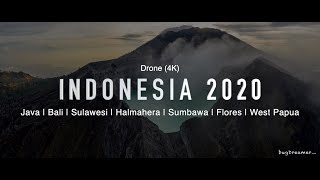 INDONESIA 2020 | Aerial Cinematic Drone (4k)