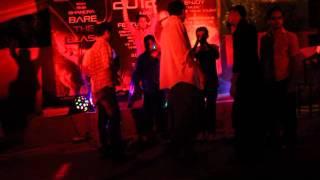 D.J party in Preston university main campus  karachi