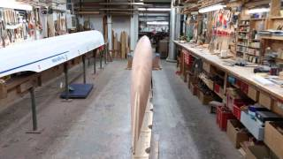 Stampfli Wooden Lightweight Rowing Boat