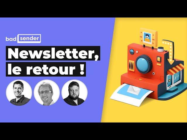 LIVE : Newsletter, le retour ! Quel contenu ? Quel modèle ?