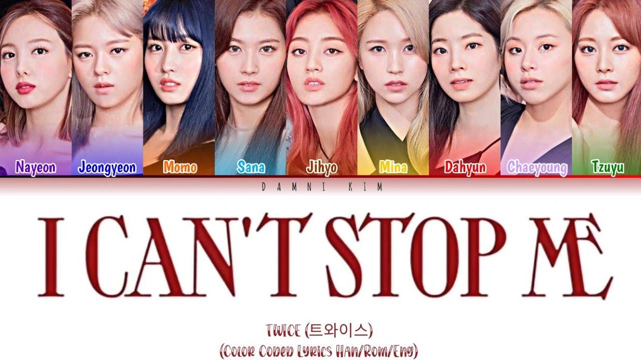TWICE 트와이스   'I CAN'T STOP ME MV PLATFORM TEASER' Lyrics ...