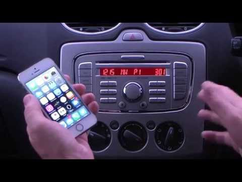How to pair an iPhone with the CD 6000 in a 2010 10 FORD FOCUS 1 6 Zetec S