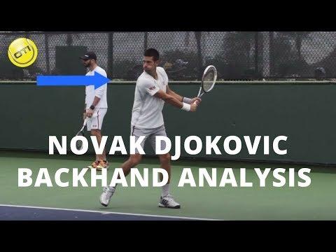 Novak Djokovic Backhand Analysis