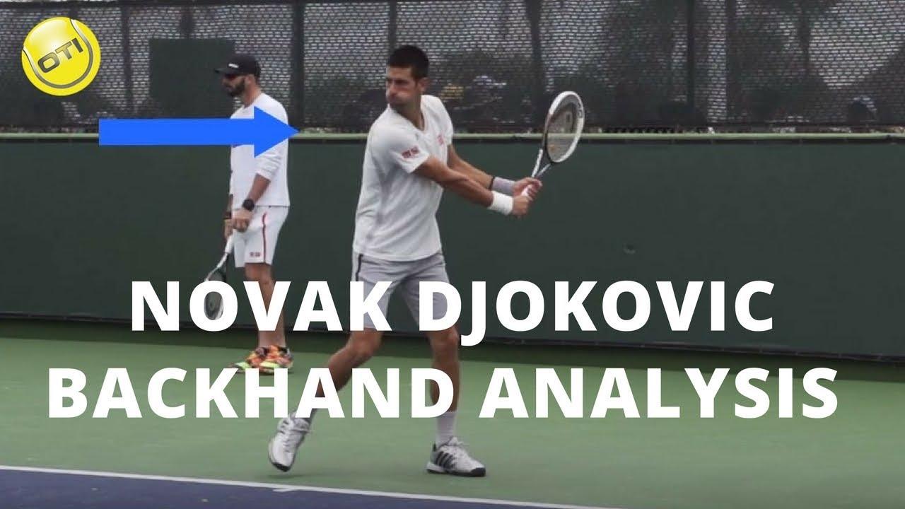 Novak Djokovic Backhand Analysis - YouTube d47ac4fa27626